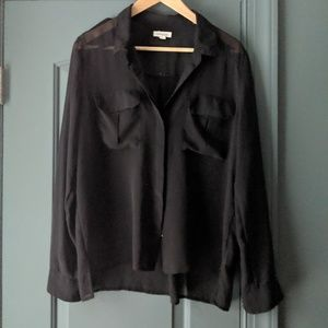 Urban Outfitters Silence & Noise sheer blouse L